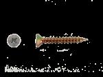 PARAFUSO ENCARTELADO 4 X 30mm C/ 50 UNIDADES
