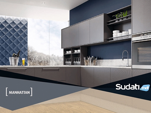 MDF MANHATTAN 18mm 2F 185 x 275 - SUDATI - UN