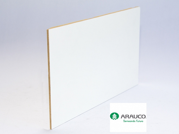 PAINEL 1/4 THDF 03mm BRANCO 0,92 x 1,22