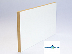 MDF BRANCO 15MM 2F 185 x 275 GREENPLAC